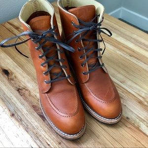 Red Wing Clara heeled lace-up boots